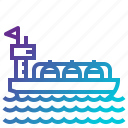 industry, navigation, oil, ship, tanker, transport, transportation icon