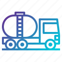 industry, oil, petrol, tank, tanker, transport, vehicle icon