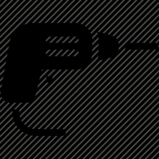 driller, equipment, industry, repair, tool icon