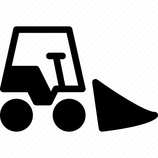 equipment, excavator, industry, truck, vehicle icon