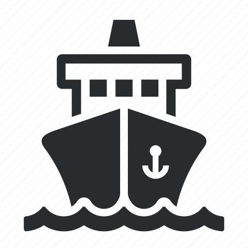 industry, maritime, navy, ship, shipping icon