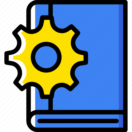Book, engineering, factory, industry, production icon - Download on Iconfinder