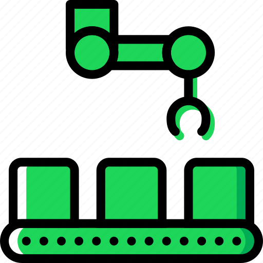 Belt, conveior, factory, industry, production icon - Download on Iconfinder