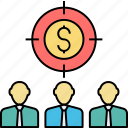 trader, investor, management, financier, businessman, manager icon