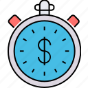 business development, business growth, clock analytics, finance development, growth strength, time growth, time money icon