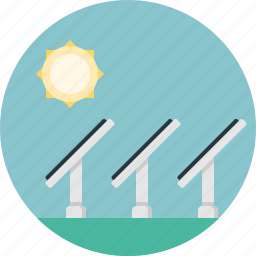 charge, industry, lightning, panels, power, solar, sun icon