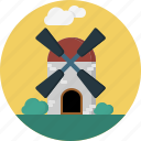 cloud, clouds, industry, wind, windmill icon
