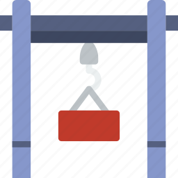 dock, factory, industry, lifter, production icon