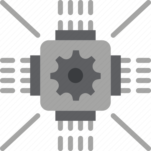factory, industry, processor, production icon