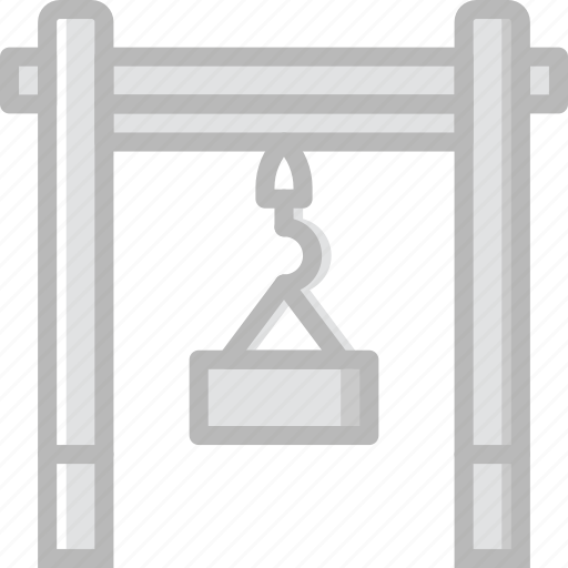 Dock, industry, production, lifter, factory icon