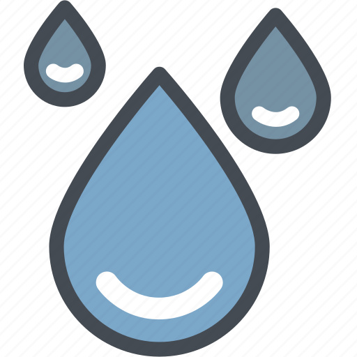 drop water, gas, industry, liquid, oil, power, raining icon
