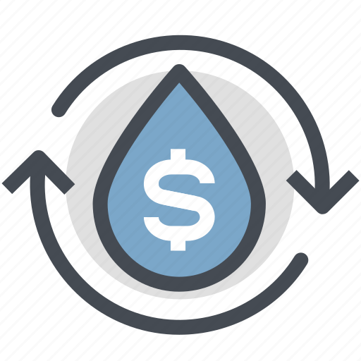 Oil, oil price, power, profit, gas, business oil, water icon