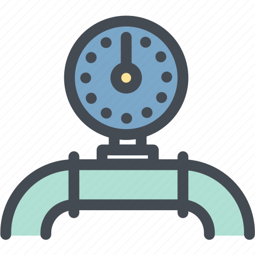 gas, industry, oil dial, oil gauge, oil meter, oil pipe, pipeline icon