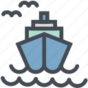 delivery, logistic, oil, power, ship, shipping, transport icon
