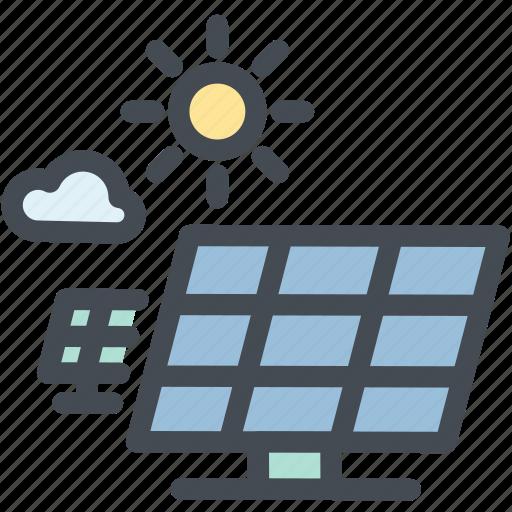 industry, power, solar, solar energy, solar panel, solar power, sun icon