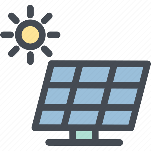 industry, power, solar, solar energy, solar panel, solar power, sun icon