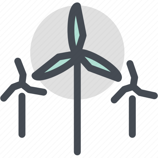 Ecology, industry, nature, power, wind, wind power icon - Download on Iconfinder
