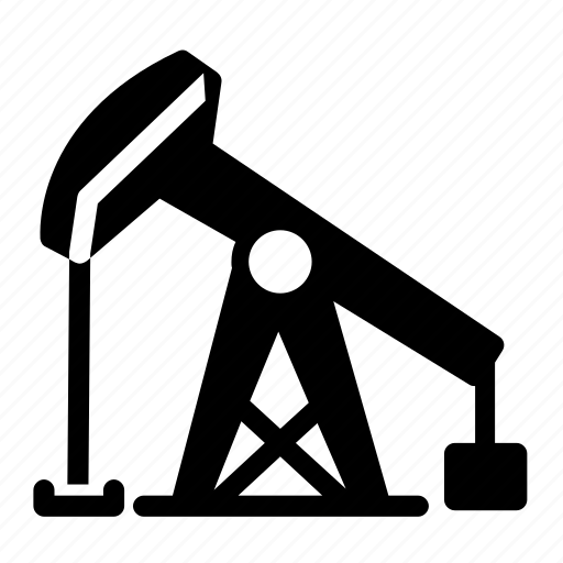 industry, oil, oil drilling, oil rig, petroleum, platform, power icon