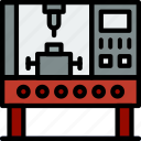 factory, industrial, industry, production, robot icon