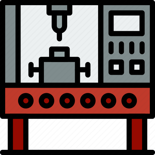 Factory, industrial, industry, production, robot icon - Download on Iconfinder