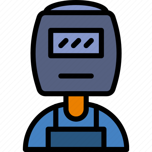 Industry, production, factory, welder icon