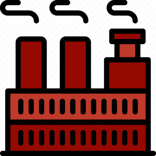 factory, industry, production icon