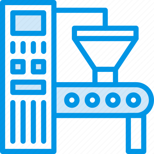 Industry, production, factory, robot icon