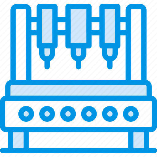 factory, industraial, industry, production, robot icon