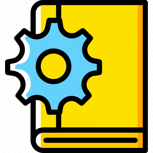 book, engineering, factory, industry, production icon