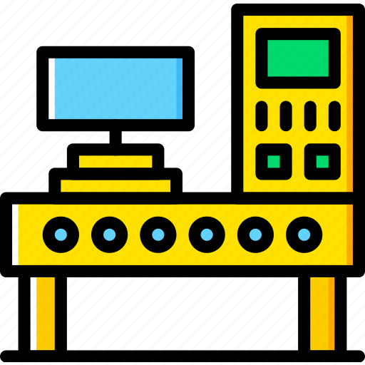 Command, factory, industry, panel, production icon - Download on Iconfinder