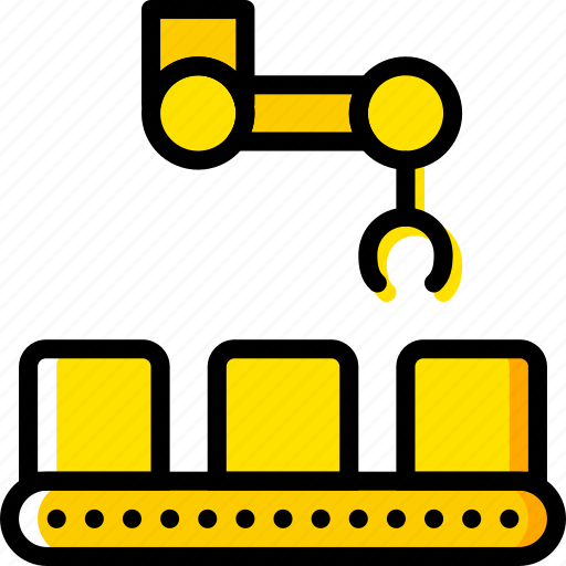 belt, conveior, factory, industry, production icon