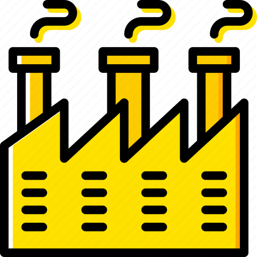 Industry, production, factory icon