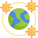 coronavirus, epidemic, global, infectious, pandemic, spread, virus icon