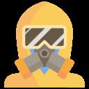 coronavirus, disease, mask, protection, safety, toxic, virus icon