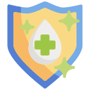 antivirus, coronavirus, cure, heal, health, protection, sheild icon