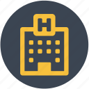clinic, hospital icon
