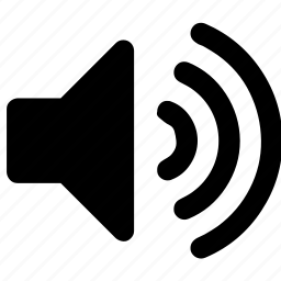 music, speaker, up, volume icon