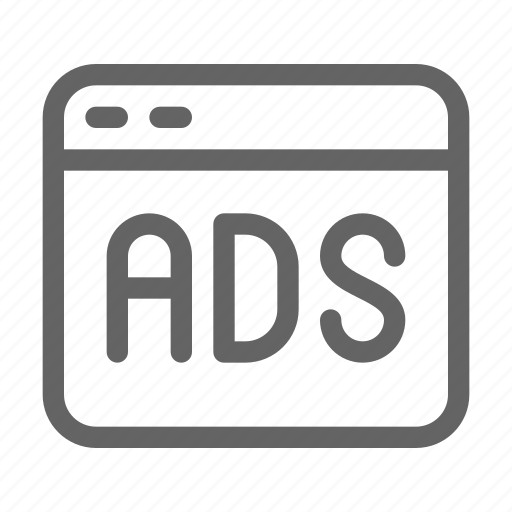 ad, ads, content, sponsorship icon