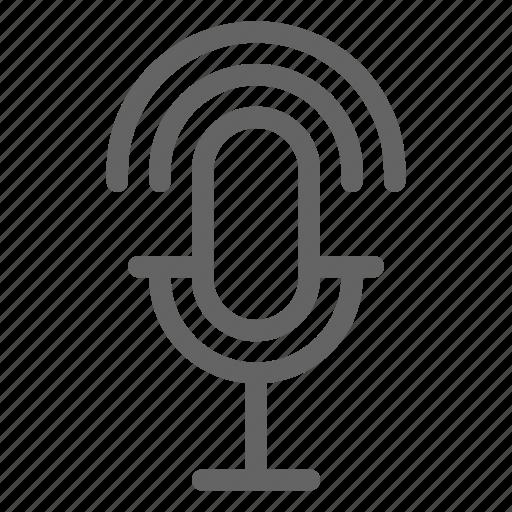 broadcasting, influencer, podcast, radio icon