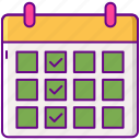 calendar, content, schedule, timetable icon