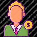 cost, cpl, customer, lead, per icon