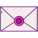 contact, email, inbox, letter, message icon