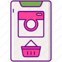 basket, galleries, instagram, shoppable, store icon