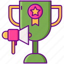 competition, contest, cup, social, winner icon