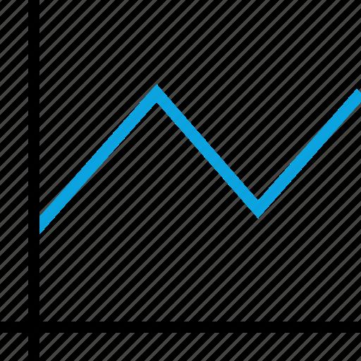 analytics, bar, information icon