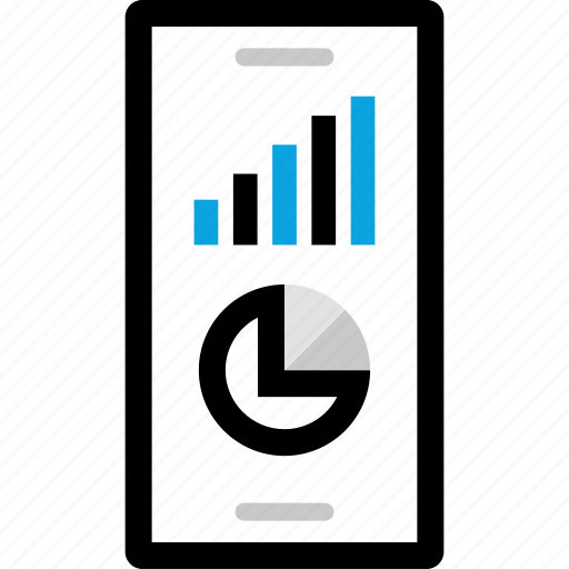 analytics, cell, information icon