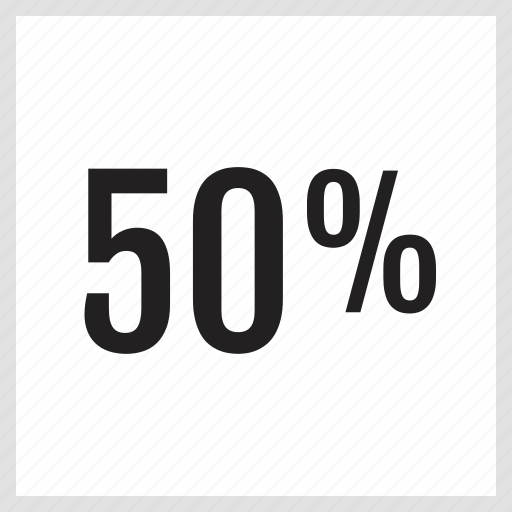 analytics, fifty, information icon