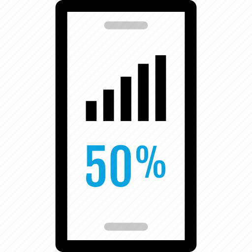 analytics, going, information, up icon