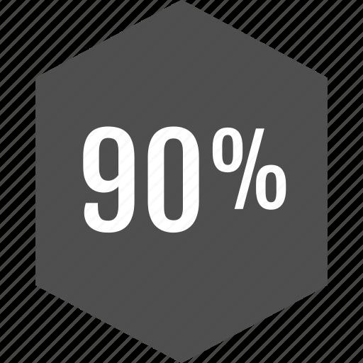 analytics, information, ninety icon