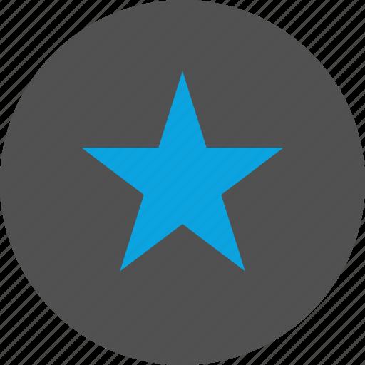 analytics, fav, graphic, star icon